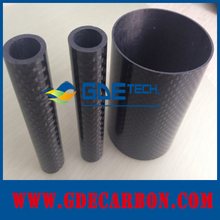Large diameter carbon fiber tube 50mm, carbon fiber wrapped tube