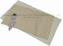 Digital moist heating pad with timer/multi temperature setting