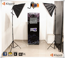 Wholesale Wedding Photobooth/Portable Photo booth Machine/Free Standing Cheap Photo booth With Shell