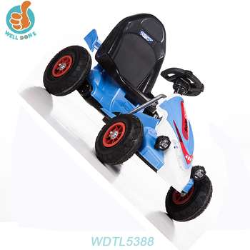 WDTL5388 Outdoor Kids Children Cars 6v Kids Rides With Double Battery Tractor Car Led