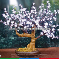 LED mini bonsai tree,decorative flower bonsai,bonsai cherry light