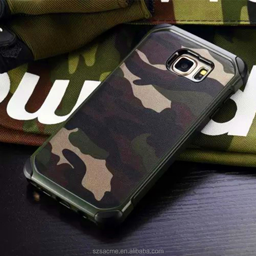 phone accessories Military Army Camo Camouflage Hybrid Case For Samsung Galaxy Note 4
