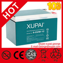 OEM OK High Capacity 12ah Rechargeable Lead Acid Battery 12v with Low Battery Price Made in China