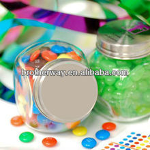 glass sweet jars,cheap glass candy jars