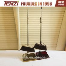 wooden poles for plastic broom home long plastic brush with dustpan