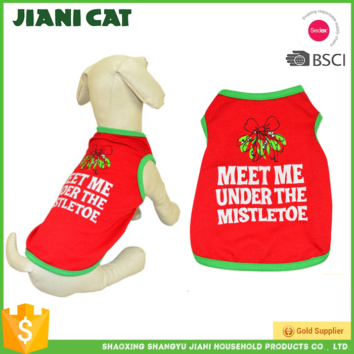 High quality wholesale small pet dog clothes