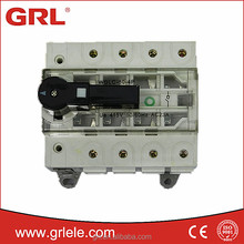 IEC approved 80A 3P 4P red copper briding bar isolator switch