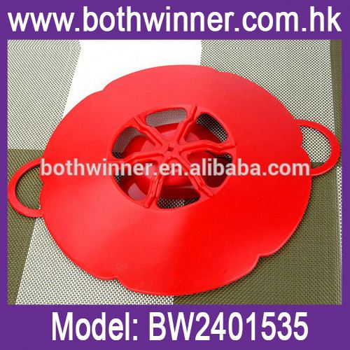 Anti spill pot lid ,h0tdu bowl lids silicone cover for sale