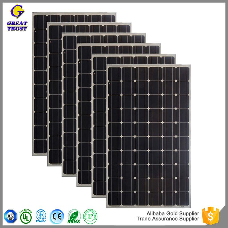 Multifunctional 10 amp solar panel luminous panel solar 120v solar panel