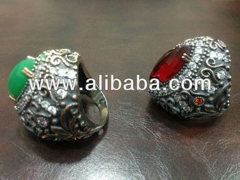 1000 grams 925 Silver = $800 Turkish Ottoman Jewelry Antique Ring Earrings Bracelets Sets Grand Bazaar Istanbul Turkey Wholesale