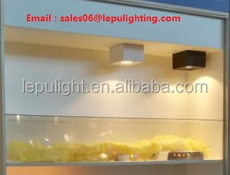 0-100% dimming surface led cob downlight with fast wiring and install high cri 93 warm white cool white 2700k 5000k