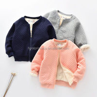 Baby Boy Girl Coat Down Jacket Kid Casual Thick Autumn Winter Infant Cardigan Plus Velvet Outerwear Snowsuit