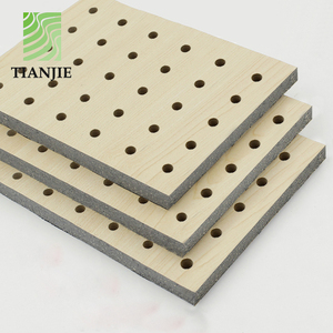 MDF Perforated types of gymnasium acoustical ceiling panel board