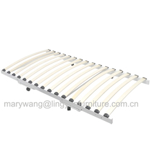 knock down cheap iron metal white day bed