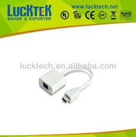 1.4V HDMI A MALE TO VGA FEMALE ADAPTER WITH CHIPSET