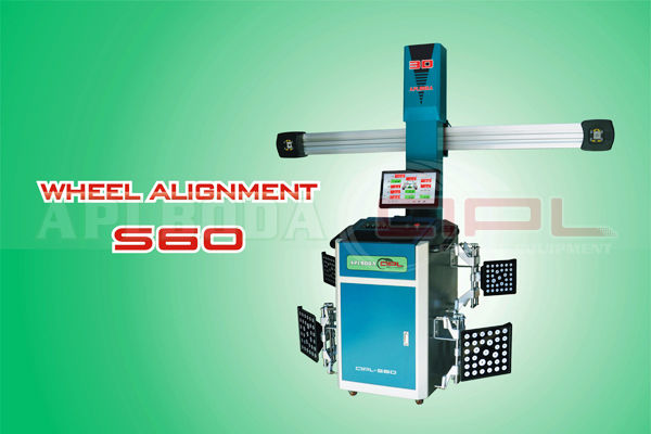 NEW APL-S60 3D wheel aligner for Passenger vehicle