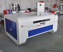 Co2 laser leather cutting machine for shoes, bag, jacket, collar