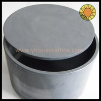 graphite crucible for meltal melting