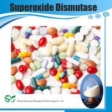 100% natrure plant extract superoxide dismutase (SOD enzyme)