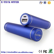 Wholesale universal lipstick battery charger portable power bank