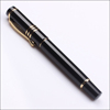 Black Thick Elegant Wholesale Roller Gel Ink Pens with Cap for Business Man