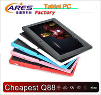 "7"" A13 Q88 tablet 512MB RAM 4GB Flash 1.3MP front camera"