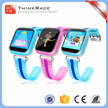 Fashion design SIM card kids smart gps cell phone watch for students