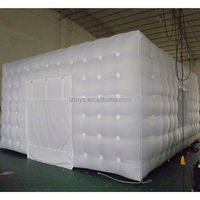 used inflatable tent , LZ-E421 inflatable lawn dome tent