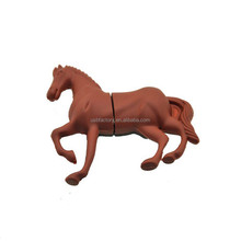 Cartoon Horse Model USB 2.0 Memory Stick Flash pen Drive 4GB 8GB 16GB 32GB