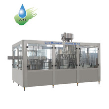 Automatic pet bottle drinking water bottling plant / liquid filling machine