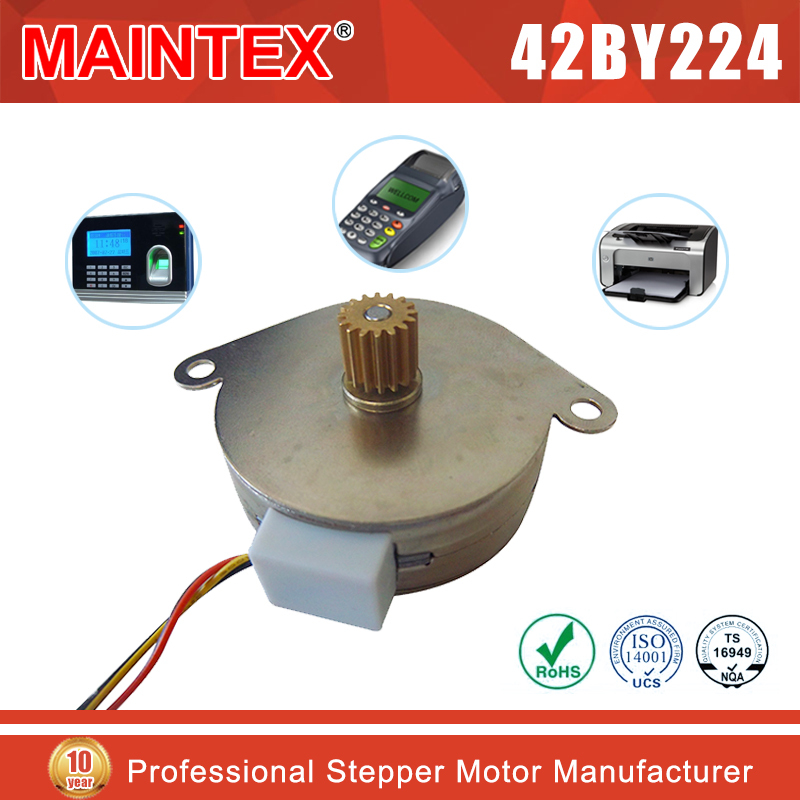 42BY224 42mm 24v pm stepper gear motor for electronic scale