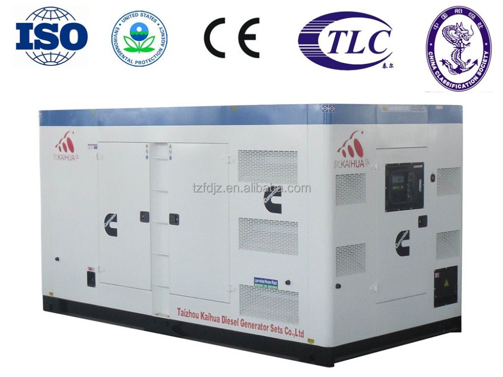 400KVA/320KW Electric Power gen Powered by Cummins NTA855-G7A Industrial type
