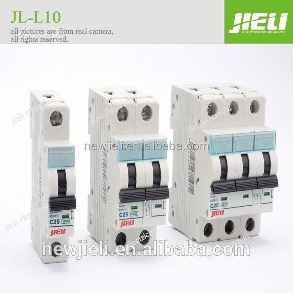 JIELI copper parts silver contact 32 amp circuit breaker