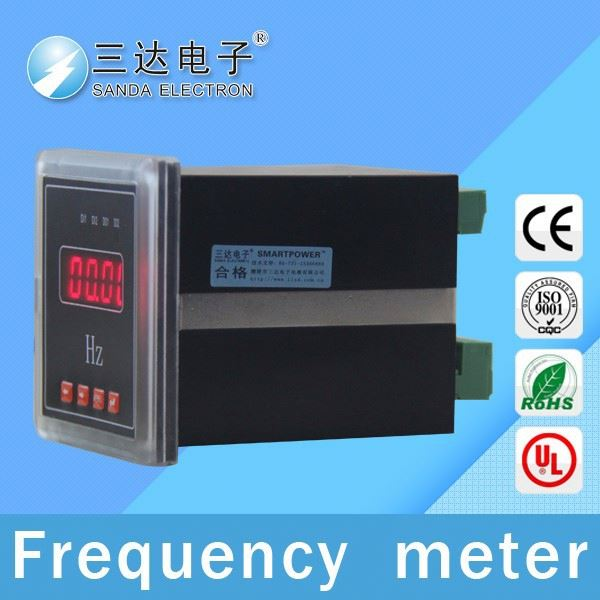 satellite frequency meter, frequency meter connection