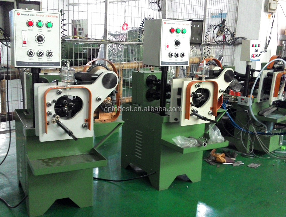 cold rolled pipe thread rolling die pipe screw making machine TB-9GY