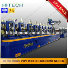 high sepped and high quality straight seam welded pipe line or tube mill line