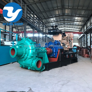 High head centrifugal sand ash slurry dredge booster pump for sale