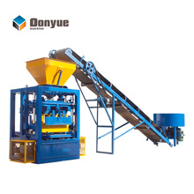 Dongyue brand QT4-24 split face block machine block making machine hollow brick machine in South Africa