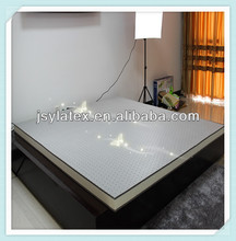 Hot sale elegant style natural bamboo latex foam mattress for home or hotel