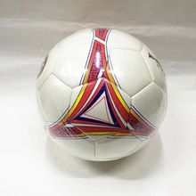 Machine Sewn Official Size Soccer Ball Custom Logo Printing Football Size 5 Promotion and Training