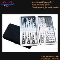 promotion gifts travel game metal mini portable backgammon set