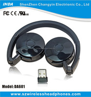 2.4g digital with microphone chatting on line & 3.5mm wireless stereo headphone