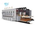 CE certification high speed automatic carton printing die cutting machine