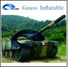 inflatable tank /inflatable military tank/inflatable tank for sale