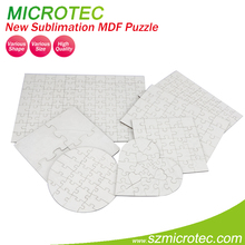 Hot Selling Factory Price Custom Blank MDF Sublimation Puzzle