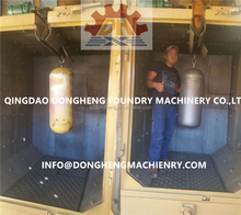 spinner hanger shot blasting machine with Siemens control cabinet