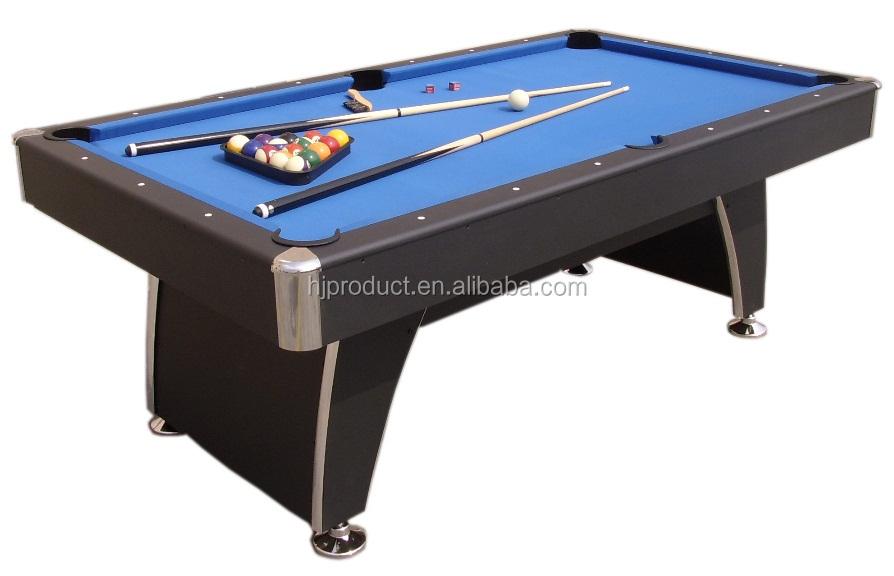 High Quality Billiard Tableft Pool Table With Blue Felt Buy - Hathaway portable pool table