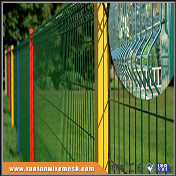 hot sale welded 3d wire mesh fence panel (ISO:9001)