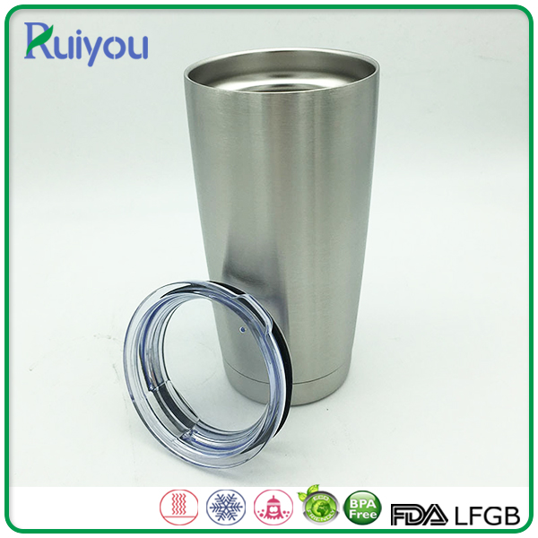 Custom Personalized BPA free 600ml double wall tumbler