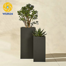Customized Hot Selling Tall Planters Tree Pots Outdoor Flower Planters Different Types Cheap Garden Flower pots